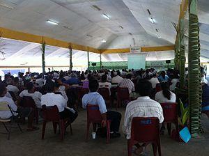 Maneaba - Tenimanraoi maneaba in Betio, Kiribati