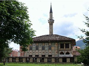 Islam in the Republic of Macedonia - The Šarena Džamija, built in 1438, is a mosque in Tetovo.
