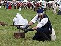 Tewkesbury Medieval Fair 2008 - Firing cannon.jpg