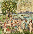 The Bathing Cove by Maurice Brazil Prendergast, c 1916-18.jpg