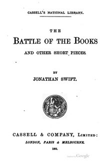 The Battle of the Books, and Other Short Pieces.djvu