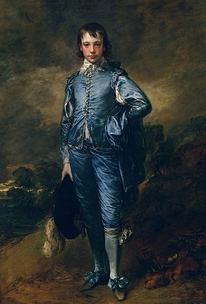 Django Unchained - Django's valet costume was inspired by Thomas Gainsborough's 1770 oil painting, The Blue Boy.