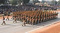 The Central Industrial Security Force marching contingent passes through the Rajpath during the 62nd Republic Day Parade-2011, in New Delhi on January 26, 2011.jpg