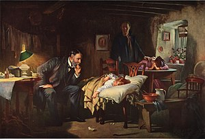 The Doctor - Joseph Tomanek, after Luke Fildes.jpg