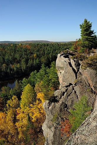 Greater Madawaska - The Eagle's Nest Trail near Calabogie Peaks
