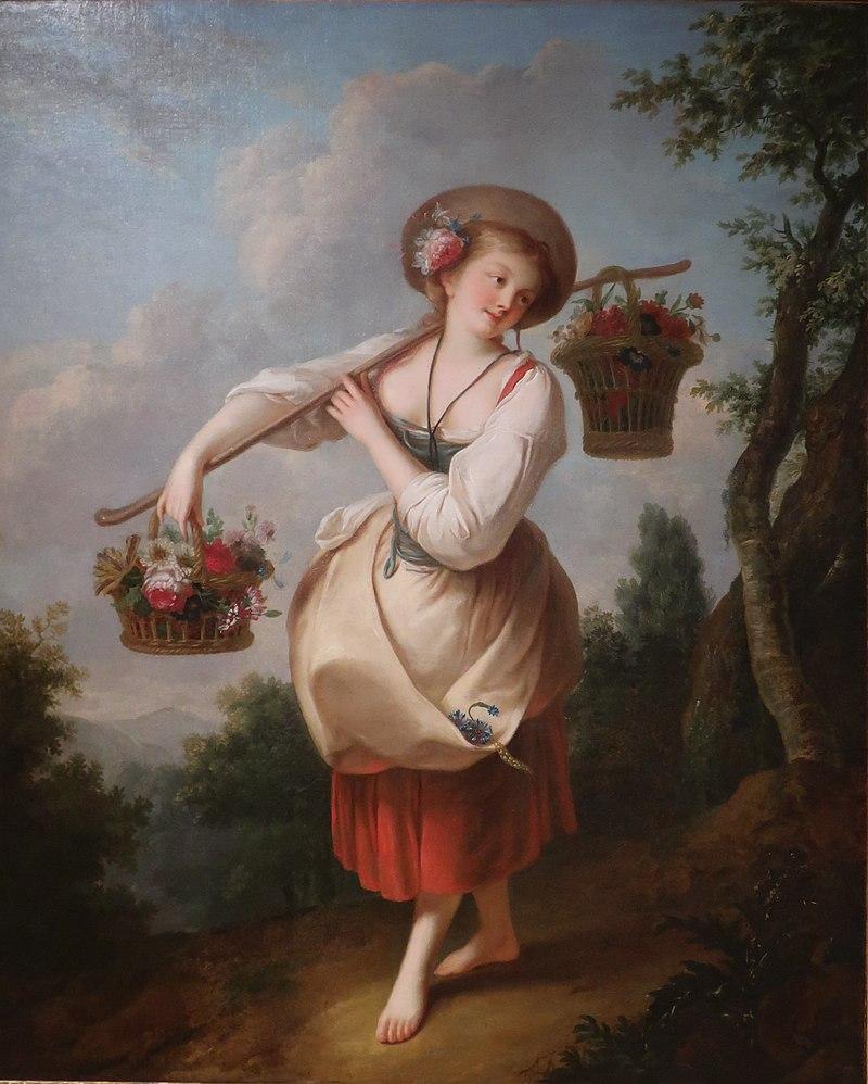 Цветочница - Жан-Батист Ле Принс. JPG