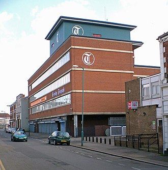 Grimsby Telegraph - Headquarters in May 2007