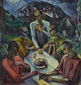 The Last Supper by Gyula Derkovits 1922.jpg