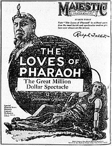 Description de l'image The Loves of Pharaoh 1922 newspaperad.jpg.