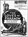 The Loves of Pharaoh 1922 newspaperad.jpg