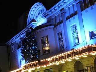 theatre and cinema in Lowestoft, Suffolk, England