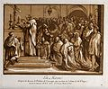 The Mass. Colour mixed media print by the Comte de Caylus an Wellcome V0048170.jpg