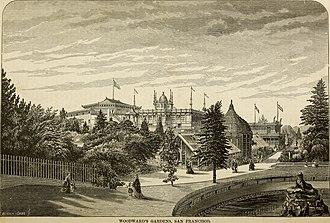Woodward's Gardens - Woodward's Gardens, 1877