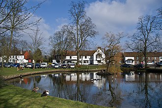 Godstone - Image: The Pond, Godstone Green (geograph 3355211)