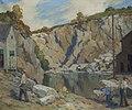 The Quarry, New Harbor Maine by George J. Stengel, Hudson River Museum.jpg