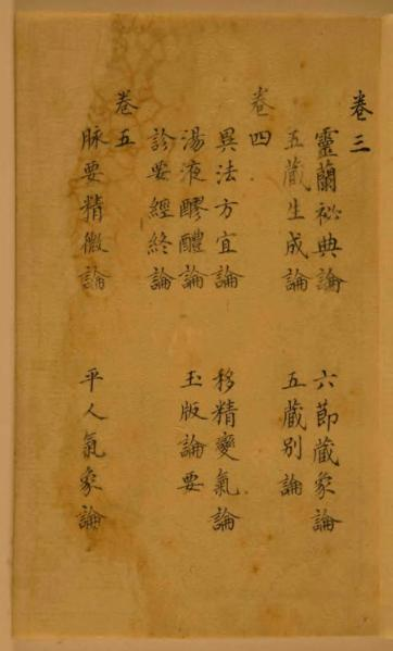 ファイル:The Su Wen of the Huangdi Neijing.djvu