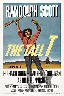 <i>The Tall T</i> 1957 film by Budd Boetticher