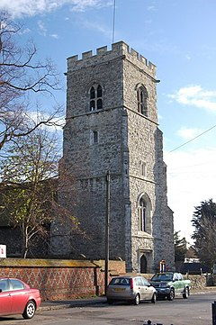 The Tower, St Michaels Church, Fobbing - geograph.org.uk - 1066780.jpg