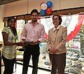 The U.S Consulate Chennai celebrated its two-year anniversary on Facebook with U.S. Consul General Jennifer McIntyre, actors Bharath Srinivasan and Jeyam Ravi19.jpg