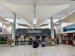 The booking hall, Plymouth railway station 01.jpg