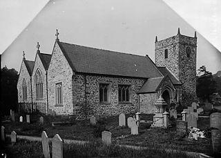 The church, Llanrhaeadr-ym-Mochnant