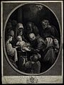 The circumcision of Christ. Engraving by F-G. Aliamet, 1765, Wellcome V0034642.jpg