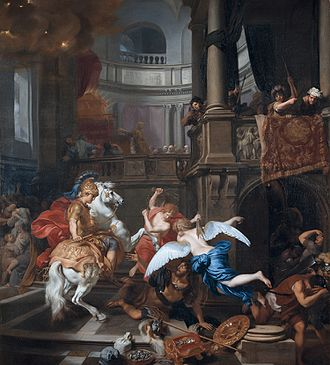 Heliodorus (minister) - Gerard de Lairesse, Expulsion of Heliodorus from the Temple