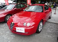 The frontview of Alfa Romeo GTV 2.0 TWIN SPARK.JPG
