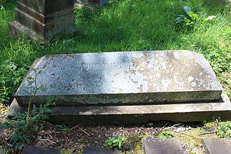 Thomas Duncan (painter) - The grave of Thomas Duncan, Warriston Cemetery