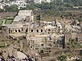 The historical Golconda fort Hyderabad 03.jpg