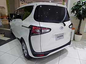 The rearview of Toyota SIENTA G Cuero (DBA-NSP170G-MWXUB).jpg