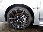 The tire wheel of Subaru WRX S4 2.0GT-S EyeSight (DBA-VAG).jpg