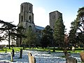 The twin towers of Wymondham Abbey - geograph.org.uk - 675427.jpg