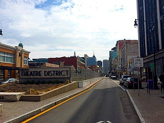 Buffalo Theatre District - Image: Theater Dist
