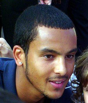 Theo Walcott. Released under the terms of the ...