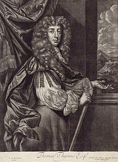 Thomas Thynne (died 1682) landowner