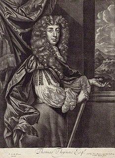 Thomas Thynne (died 1682) landowner