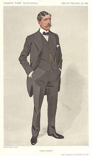 Thomas Cochrane, 1st Baron Cochrane of Cults - North Ayrshire, Vanity Fair, 1911