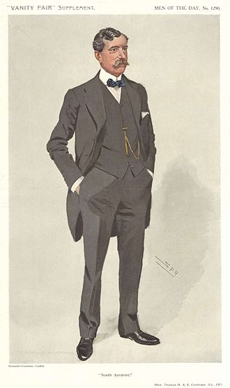 Thomas Cochrane, 1st Baron Cochrane of Cults - North Ayrshire, Vanity Fair, 1911
