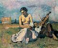 Thorma Fiddling Gypsy Couple 1935.jpg