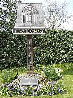 Thwaite St Mary human settlement in United Kingdom