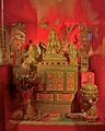 Tibetan shrine in the Horniman Museum 1.jpg