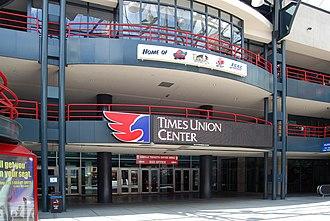 Times Union Center - The Times Union Center's atrium