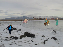 Tintin & company come to Iceland (2106487496).jpg