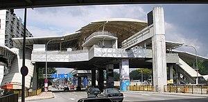Titiwangsa station - Image: Titiwangsa station (Kuala Lumpur Monorail) (exterior), Kuala Lumpur