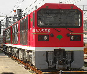 Toei Class E5000 - E5000 class loco number E5002, October 2006