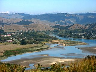 Tolaga Bay Town in Gisborne Region, New Zealand