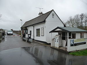 Whitney-on-Wye toll bridge - Toll house, Whitney-on-Wye.