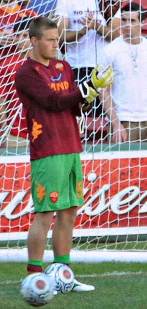 Tomas Švedkauskas - Švedkauskas with Roma in July 2012.