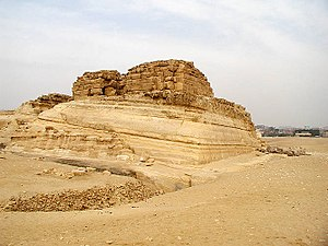 Khentkaus I - Tomb of Khentkaus I in Giza